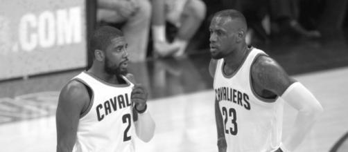 Irving may be wanting to part ways with James - image source: T J/Flickr - flickr.com