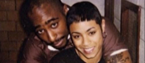 Jada Pinkett Smith and Tupac Shakur in an undated photo - Flickr/Karla