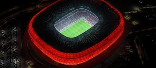 Le stade du Bayern Munich l'Allianz Arena