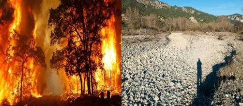 L'Italia da nord a sud continua a bruciare e si prepara all'emergenza siccità