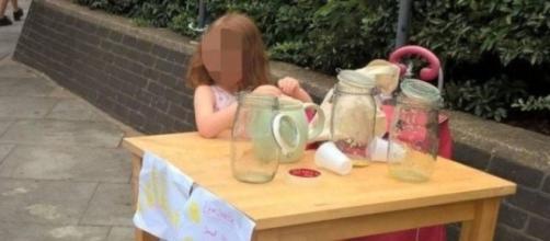 Menina foi multada durante um festival de música de Miles End, em Londres