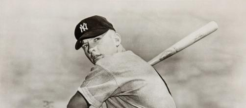 Mickey Mantle - New York Yankees via Wikimedia Commons