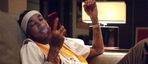 Tyga is finally speaking out about the Rob Kardashian, Blac Chyna drama. (YouTube/TygaVEVO)