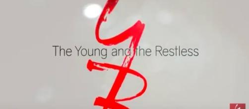 Young And The Restless tv show logo image via a Youtube screenshot.