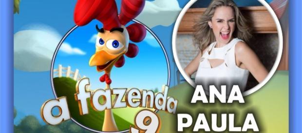 'A Fazenda 9' estreia em setembro e Ana Paula Renault é uma das mais cotadas para o reality