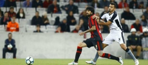 Atlético-PR e Botafogo terminam sem gols pelo Campeonato Brasileiro (Foto: Reprodução)