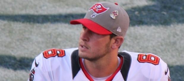 Dan Orlovsky, a player on the National Football League by Jeffrey Beall via Wikimedia Commons