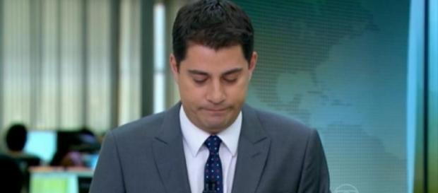 Evaristo Costa não se sentia bem na emissora