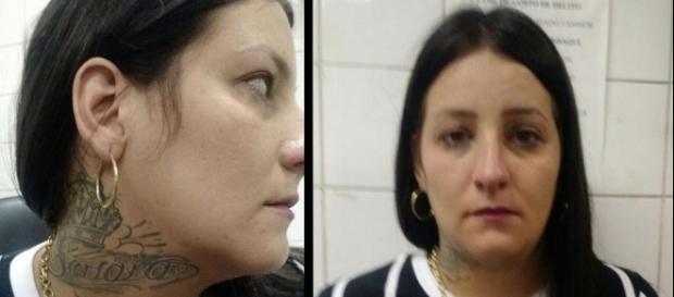 Talita foi presa neste fim de semana, em uma lanchonete na Zona Norte de São Paulo - imagem: Divulgação/DEIC