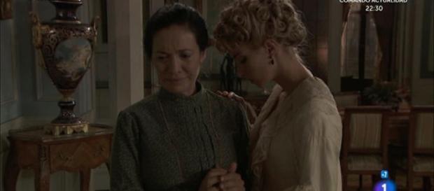 Una Vita, anticipazioni: Fabiana si sacrifica per amore di Cayetana.