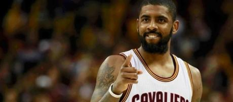 Kyrie Irving reportedly requested a trade, as he no longer desires to play alongside LeBron James (via YouTube/NBA)