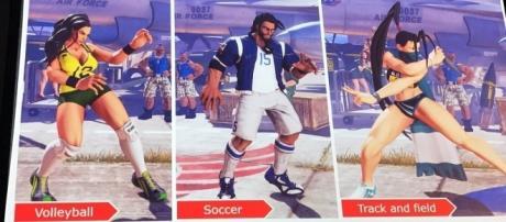 'Street Fighter V': getting a sporty makeover, sport costumes arrives on July 25(Jared @ SDCC/Twitter)