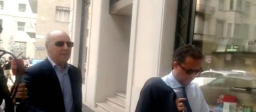 Gli uomini di mercato della Juve: Giuseppe Marotta a sinistra e Fabio Paratici a destra