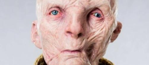 Imagen filtrada con el supuesto aspecto del villano Snoke