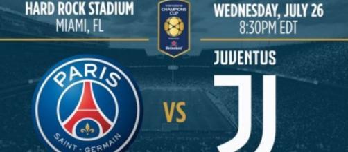 International Champions Cup Psg-Juventus 27 luglio 2017