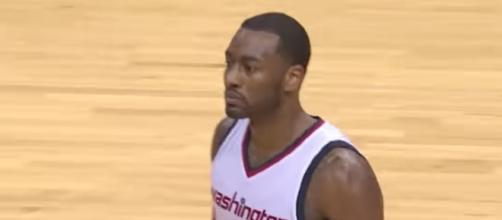 John Wall has signed a four-year contract extension with the Washington Wizards. [Image via NBA/YouTube]
