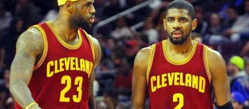 LeBron James, Kyrie Irving - Photo: YouTube (NBA)