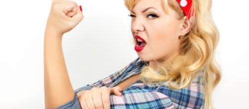Mulheres fortes jamais se dispõem a fazer essas coisas. (Foto: Reprodução)