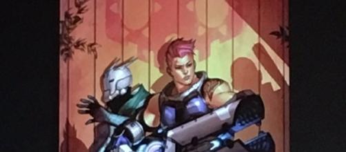 'Overwatch': upcoming Zarya vs Sombra comic leaked at SDCC (Gu@sleep/Twitter)