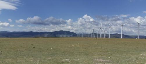 Wind turbine farm - Image OLC Fiber   Fickr