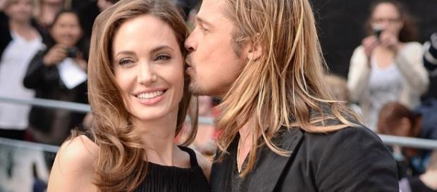Angelina Jolie e Brad Pitt quando erano sposati