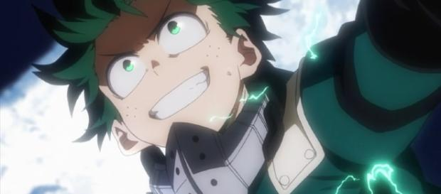 Izuku Midoriya from 'My Hero Academia' episode 29 (via YouTube - GOT)