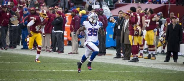 Mike Gillislee | Bills at Redskins 12/20/15 | Keith Allison | Flickr - flickr.com