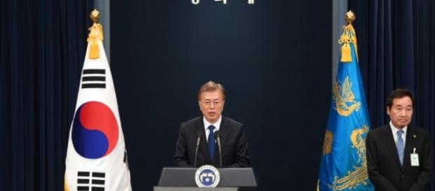 New South Korean President Vows to Address North Korea, Broader ...[Image source: Youtube Screen grab]