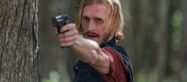 'Walking Dead season 8 who is Dwight really fooling? Photo Credit:YouTube Screen Shot
