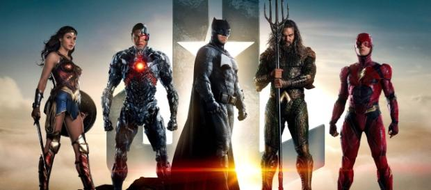 Warner. Bros. Pictures. The Justice League.