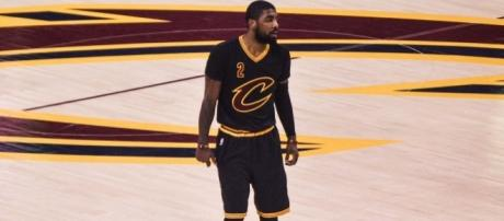 Kyrie Irving is the cover athlete for NBA 2K18 - Erik Drost via Flickr