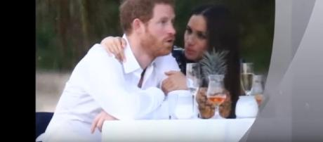 Prince Harry & Meghan Markle at his Friend's Jamaican Wedding - Image- Princess Diana & The Royal Family | YouTube
