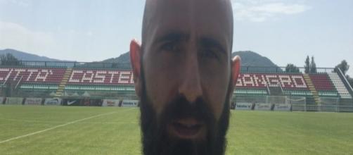 Fabio Mazzeo, 34enne attaccante del Foggia Calcio