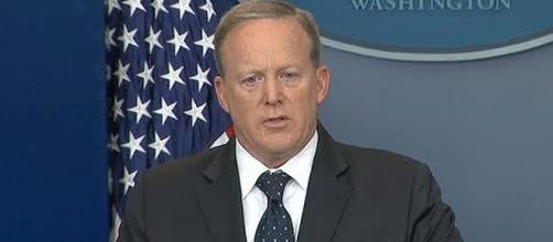 Former White House Press Secretary Sean Spicer [Image: YouTube screenshot}