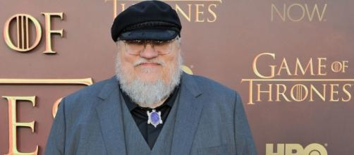 "George RR Martin is not done with ""The Winds of Winter"" yet."