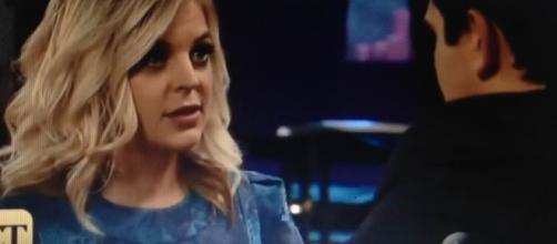 Kirsten Storms returns as Maxie. Youtube screencap/ ABC.com
