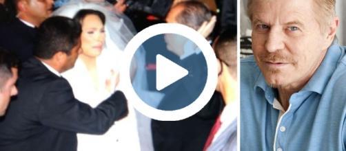 Miguel Falabella critica o casamento luxuoso de Maria Victoria, deputada estadual do PP-PR, e povo lança ovos nos noivos e convidados