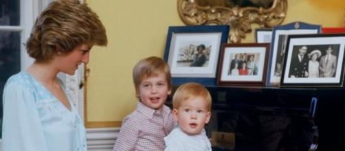 Princes William and Harry break silence over Princess Diana's death in an HBO documentary/Photo via HBODocs, YouTube