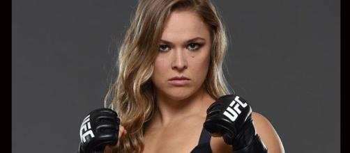 Ronda Rousey/ photo by Sabre Blade via Flickr