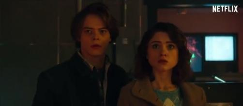 """Stranger Things"" season 2 will still feature Nancy together with Jonathan (via YouTube - Trailers Promos Teasers)"