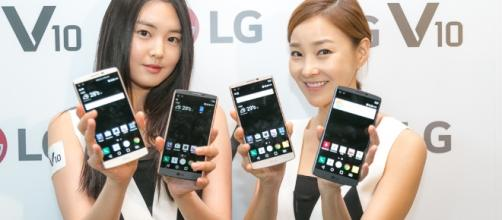 T-Mobile rolls out Android Nougat to LG V10 / Photo via LG Electronics, Flickr
