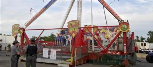 The Fire Ball ride in Columbus malfunctioned mid-operation on opening day - via The Columbus Dispatch