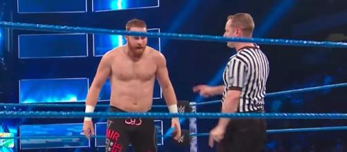 WWE 'Battleground' 2017 will feature Sami Zayn in action against Mike Kanellis. [Image via WWE/YouTube]