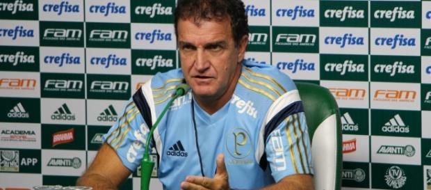 Cuca promoveu mudança no gol do Palmeiras