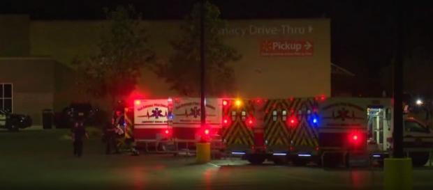 Dozens of people found in semi trailer at SW-side Walmart/ Photo via YouTube/ KENS 5