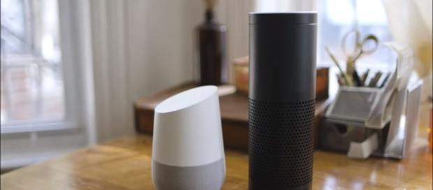 Google Home and Amazon Alexa-The Verge-Youtube sceenshot