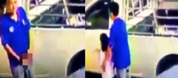 Homem tenta raptar criança em plena luz do dia