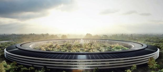 Noul sediu al Apple, din Cupertino (California, SUA)