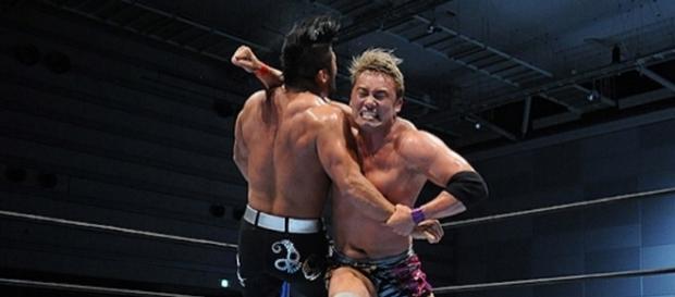 Okada quiere ser el ganador del G1 Climax 27, llegando como el campeón completo. njpw.co.jp.