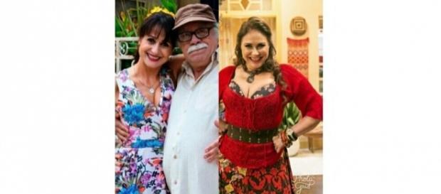 """Zezé Polessa, Tonico Pereira e Fafá de Belém: sucesso em """"A Força do Querer"""""""